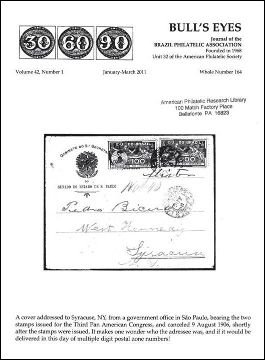Publications by the Brazil Philatelic Association